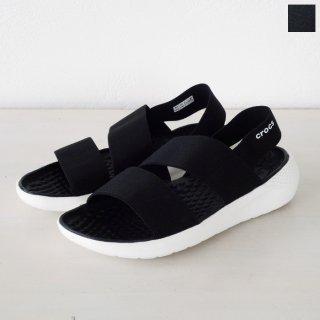 Crocs (クロックス) サンダル Women's LiteRide Stretch Sandal 206081
