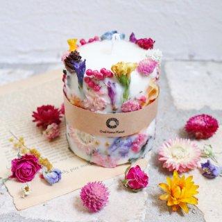 ボタニカルキャンドル flower cake