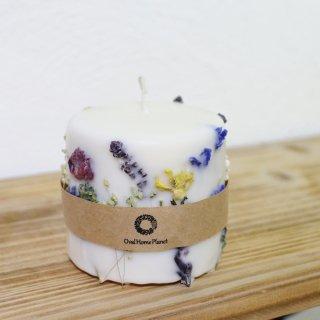 ボタニカルキャンドル アネモネと草花