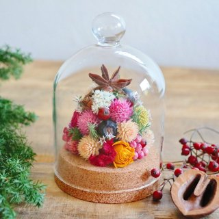 ポップなクリスマスツリードーム