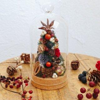 木の実のクリスマスツリードーム(大)