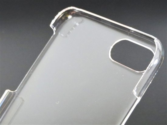 iPhone 7/iPhone 8/ガラスフィルム+ハードケースセット「GLASS + CLEAR PC」0.33mm クリアケース 商品画像