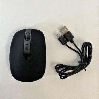 【PC/Mac/タブレット用】USB-A 充電式ワイヤレスマウス