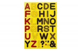 アルファベットシールL