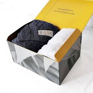 【GIFT】classic HOTEL フェイスタオル+ウォッシュタオル【TRUE BOX】
