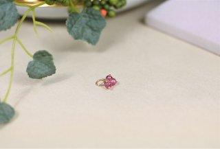 ピンクトルマリン 10Kチャーム ☺透明感のある上品ピンク☺
