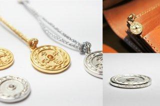〈シルバー・K18〉令和チャーム⁂祝⁂オリジナル刻印(記念メダル・キーホルダー)