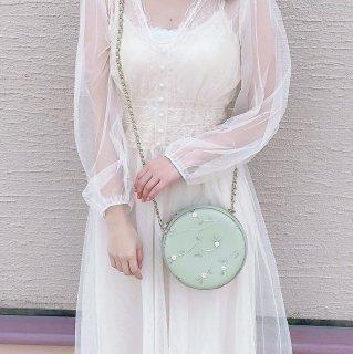[Sucre bonbon]お花刺繍バッグ
