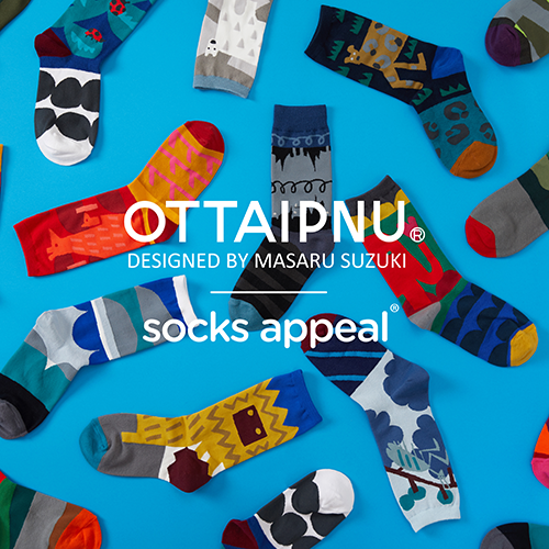 OTTAIPNU×socks appeal