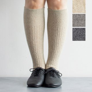 <img class='new_mark_img1' src='https://img.shop-pro.jp/img/new/icons14.gif' style='border:none;display:inline;margin:0px;padding:0px;width:auto;' />Wool Mix Rib High Socks