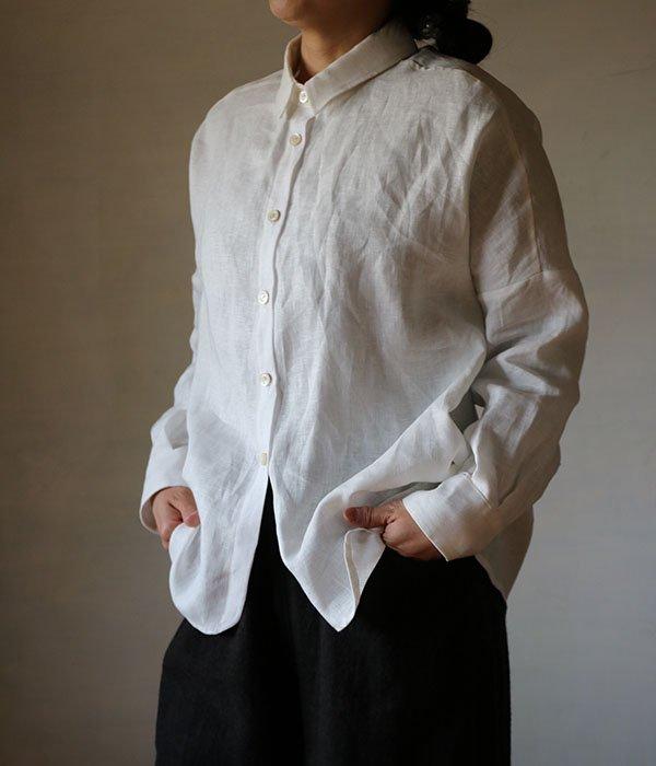 リネンドロップシャツの写真
