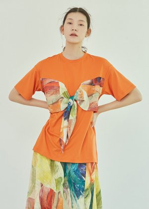 orange rainbow t-shirts