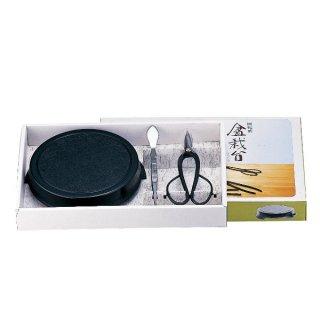 盆栽台3点セット / Bonsai turntable set 3pcs.