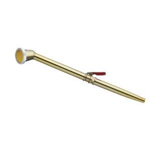 取替式真鍮ノズルコック付 小/Brass nozzle screw type with cock S
