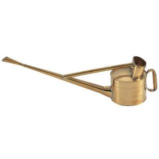 真鍮製英国式ジョーロ6号/Brass watering can 5.0L