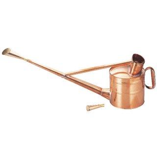 銅製英国式ジョーロ4号/Copper watering can 3.5L