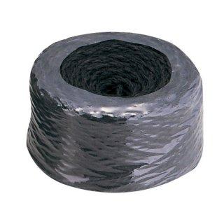 シュロナワ玉巻100m黒/Hemp-palm rope 100m black