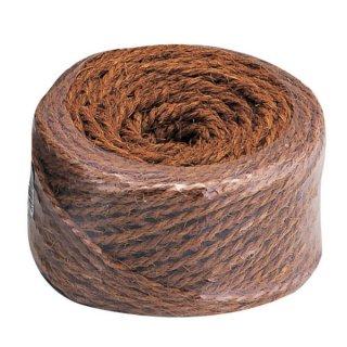 シュロナワ玉巻100m茶/Hemp-palm rope 100m brown