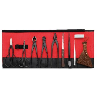 盆栽10点セット/Bonsai tool set 10pcs.