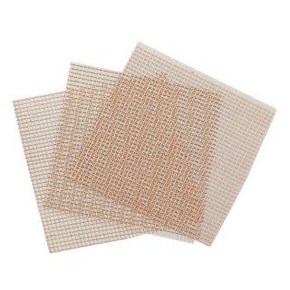 銅ネット 荒目3枚入 10×10cm / Copper bottom net (3pcs)
