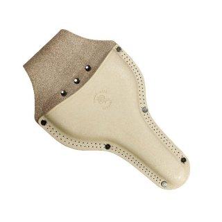 大久保鋏ケース特大 台曲二重縫 / Garden shears leather case L
