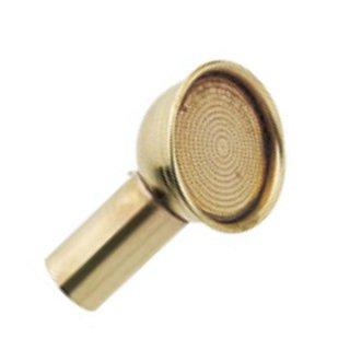 真鍮ノズル リム付 替口/Spare shower head