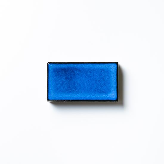 タイルメイド 焼き物の風合いむらタイル 青むらタイル 小口(ケース)