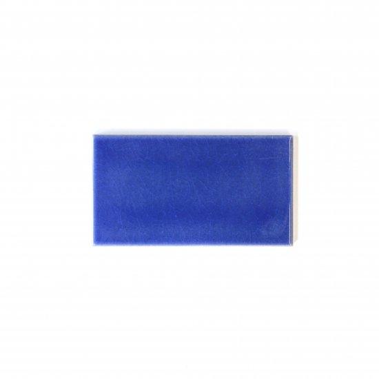 オリジナルタイル通販のタイルメイド 光と溶け合うクラックタイル 青 小口(ケース)
