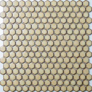 ヘキサゴン クッキータイル 15シート入|オリジナルタイル通販のタイルメイド