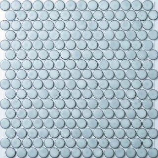 19mm丸 ノーブルホワイトタイル 15シート入|オリジナルタイル通販のタイルメイド