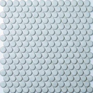 19mm丸 グレーホワイトタイル 15シート入|オリジナルタイル通販のタイルメイド