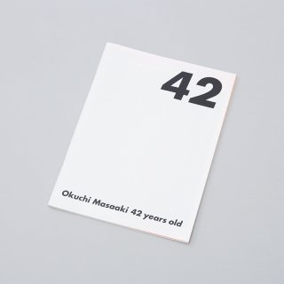 "Masaaki Okuchi ""FATE 42"" Exhibition Catalogue"
