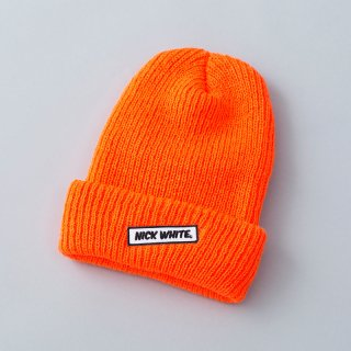 """NICK WHITE"" Original  Beanie 2 (Orange)"