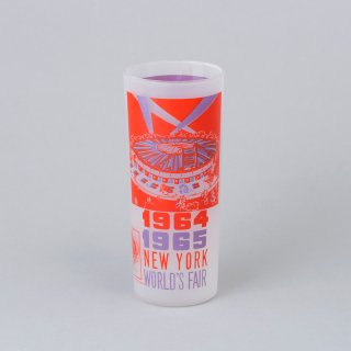"1964/1965 New York World's Fair Souvenir Glass <br>""World's Fair Circus"""