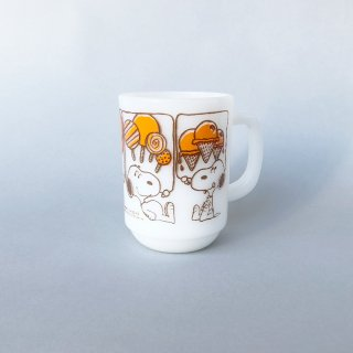 "Fire-King Mug ""Snoopy Sweets"""
