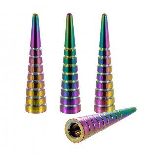 ラグナットキャップ SPIKE LINES タイプ 径16mm 長さ73mm