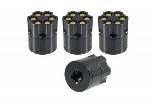 ラグナットキャップ REVOLVER SERIES BULLETS タイプ 径25mm 長さ28mm