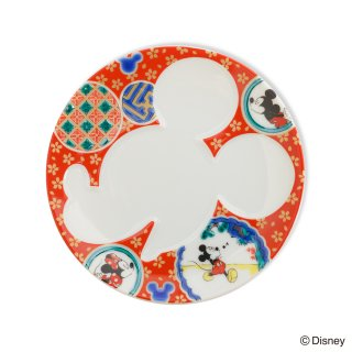 ミッキーマウス/プレート 庄三