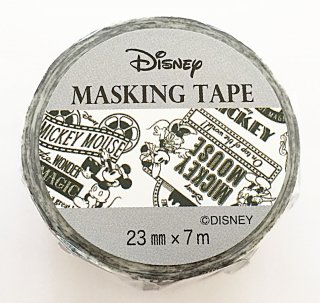 DISNEY ディズニー マスキングテープ ミッキーポスター 日本製