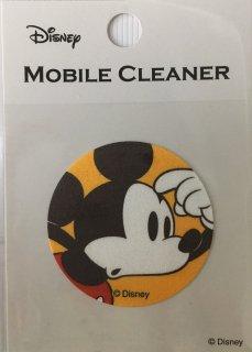 DISNEY ディズニー 貼って剥がせるモバイルクリーナー ミッキー