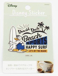 DISNEY ディズニー 耐熱耐水ステッカー ドナルド