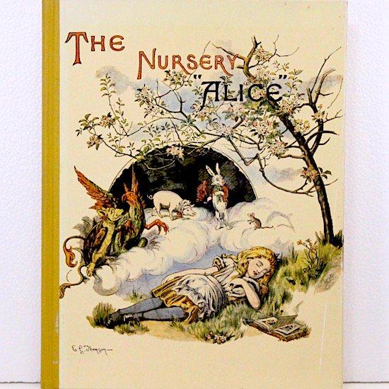 """THE NURSERY """"ALICE""""(おとぎのアリス)ルイス・キャロル ジョン・テニエル画 オズボーン・コレクション"""
