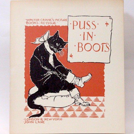 PUSS IN BOOTS(長ぐつをはいた猫 )Walter Crane(ウォルター・クレイン) オズボーン・コレクション
