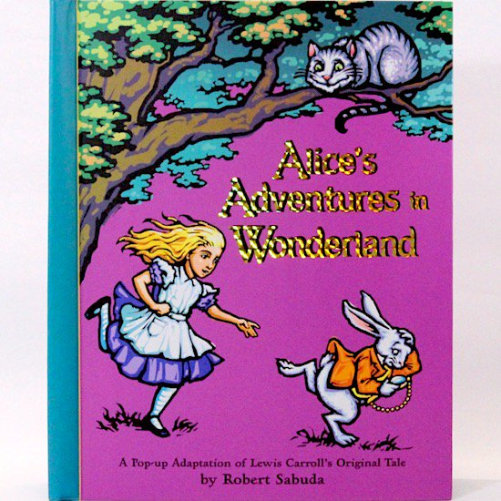 Alice's Adventures in Wonderland (ポップアップブック)