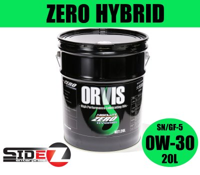 ORVIS ZERO HYBRID 0W-30 / 20L