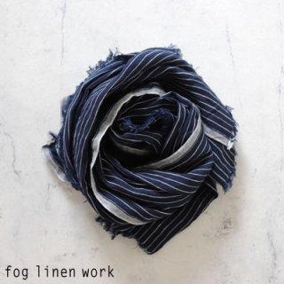 fog linen work(フォグリネンワーク)トゥズ フリンジスカーフ ジョージ / TUZ FRINGE SCARF リトアニア リネン LWS231-NST