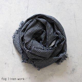 fog linen work(フォグリネンワーク) トゥズ フリンジスカーフ ステフ / TUZ FRINGE SCARF リトアニア リネン LWS231-NWPL