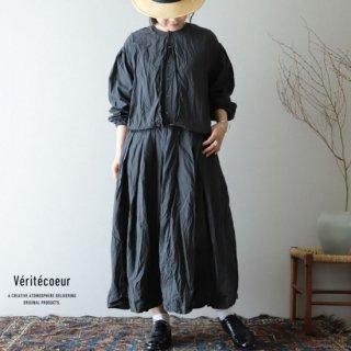 Veritecoeur(ヴェリテクール)【2019ss新作】チャーチドレス スミブラック / VC-1907【送料無料】