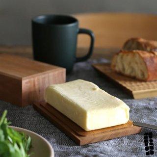東屋 バターケース 全判(200g用) 四十沢(あいざわ)木材工芸 AZMAYA 猿山修 日本製