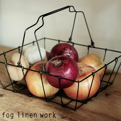 fog linen work(フォグリネンワーク) グロッサリーバスケット